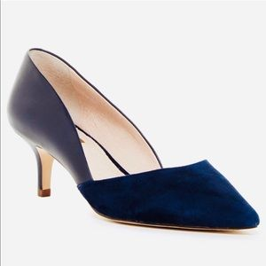 Louise et Cie navy d'orsay pumps